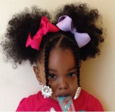 How To Style Black Toddler Girl Hair Twists In Ponytails  My Girls  Pinterest  Ponytail Kid .