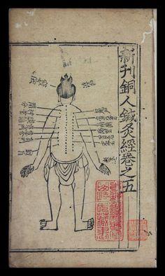 Nueva edición del manual de puntos de acupuntura sobre una figura de bronce, en siete juan — Visor — Biblioteca Digital Mundial