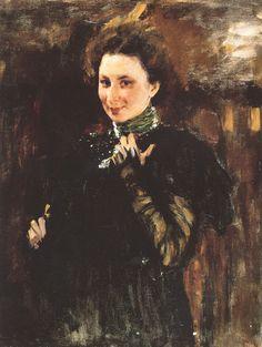 В.Серов. Портрет Мары Олив, 1895 год. ГРМ