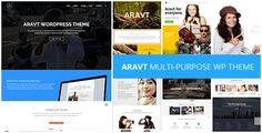 Aravt - Creative MultiPurpose Theme