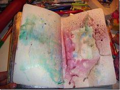 art journal by melany