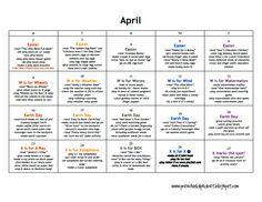 LESSON PLANS: Preschool - April.pdf