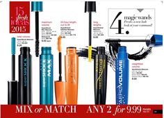 Get your favorite #mascara at a great price in Campaign 1 2015! Shop Campaign 1 online through 12/29/2014 at www.youravon.com/adavis0493