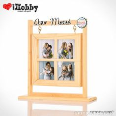 Father Photo, Laser Cutting, Picture Frames, Handmade Gifts, Daddy, Diy Projects, Baby Shower, Cute, Pictures