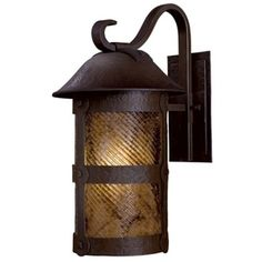M9253A199PL Lander Heights Entrance Outdoor Wall Light - Forged Bronze