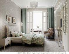 Лунная палитра интерьера спальни
