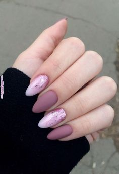 Matte and glitter gel nails pink glitter nails, baby pink nails acrylic, classy acrylic Fall Acrylic Nails, Acrylic Nail Designs, Nail Art Designs, Baby Pink Nails Acrylic, Ballerina Acrylic Nails, Outline Designs, Acrylic Gel, Stylish Nails, Trendy Nails