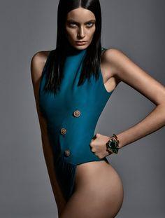 Amanda Wellsh, Aline Weber, Thairine Garcia, Laís Ribeiro, Caroline  Trentini by Zee Nunes for Vogue Brazil January 2015 10 12f4e90678
