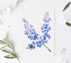 Savage Garden, Art Aquarelle, Illustrations, Watercolor Print, Decoration, Painting & Drawing, Flower Art, Lettering, Art Prints