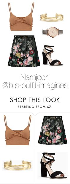 """Blood Sweat and Tears inspired (girl version)"" by bts-outfit-imagines ❤ liked on Polyvore featuring Gucci, Stella & Dot, Kate Spade and FOSSIL"