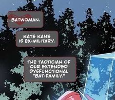 Batwoman, Bat Family, Cards Against Humanity