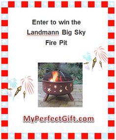Win the Landmann Big Sky Fire Pit