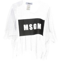 Msgm Blouse (11.367.510 VND) ❤ liked on Polyvore featuring tops, blouses, black, msgm, short-sleeve blouse, short sleeve blouse, short sleeve tops and round collar blouse