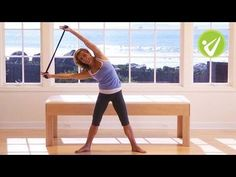 14-Minute Pilates Workout with Exercise Band - Kristi Cooper - YouTube