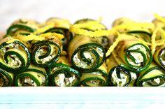 Receita fácil, prática e deliciosa para servir como entrada ou acompanhamento de pratos principais. Aprenda já como faz roll de abobrinha com ricota e nozes