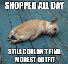 Modest Clothes. Literally my life though. I spend 5 or more shopping for a dress at the mall and i cant even find one thats modest and fashionable.