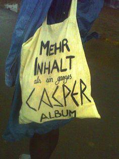 Mehr Inhalt als ein ganzes Casper Album