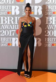 Alesha Dixon aux Brit Awards 2017