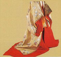 Heian kamakura kimono - details
