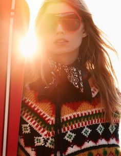 ELLE Editorial: Style Inspiration for the Slopes and the Streets   - ELLE.com