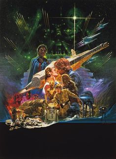 Rare-unseen-star-wars-poster-art3 The empire Strikes Back 1980.