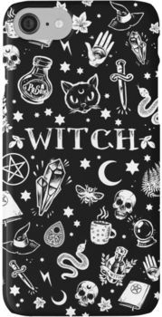 WITCH PATTERN 2 iPhone 7 Cases