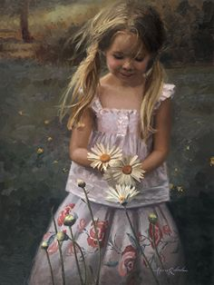 Gallery Ariana - The official Ariana Richards Portrait Artist website. Star of Jurassic Park --- Jurassic Park, Ariana Richards, Art Magique, Daisy, Painting Competition, Professional Painters, Tribal Women, California Art, Child Actresses