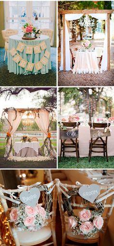 Organizar tu boda el banquete mesas de novios