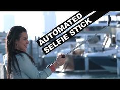 Humanity goes too far with an automatic wind-effect selfie stick Small Fan, Taking Selfies, Selfie Stick, Woman Standing, Video Clip, Hold On, Youtube, Campaign, Smile