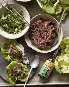 Beef Bulgogi Lettuce Wraps from www.whatsgabycooking.com (@whatsgabycookin)