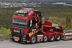 Volvo Trucks, Jeep Truck, Show Trucks, Big Trucks, Classic Trucks, Classic Cars, Toyota 4runner, Tacoma Toyota, Customised Trucks