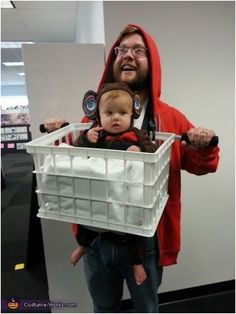 Just because your baby is a few months old, doesn't mean that he or she should miss out on Halloween.You can probably find many costumes for newborns, but what's the point of dressing a baby