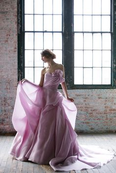 Sareh Nouri's Spring 2015 'Orchid' Gown