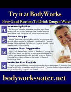 New WebSite take a peek bodyworkswater.net #alkalizedwater #kangenwater #alkalinediet stop by BodyWorks in Garfield for your Free Trial