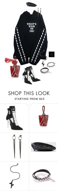 """""""Untitled #4058"""" by kimberlythestylist ❤ liked on Polyvore featuring Puma, Alexander Wang, Minx Jewelry Design, Gucci, Lynn Ban, Christian Dior and Joomi Lim"""