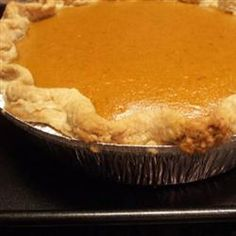 Creamy Pumpkin Pie Allrecipes.com