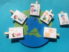 Green Day, Earth Day, Kids Education, 1, Frame, Activities, Creative Crafts, Creativity, Early Education