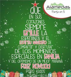 Gracias por compartir con nosotros esta Navidad ! Alamedas Centro Comercial #Piensaenti
