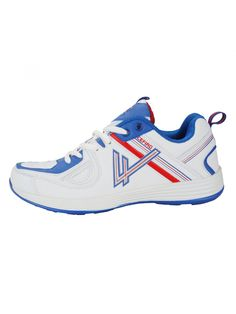 White Blue Men Sports Shoes -  Buy Online White blue Sports Shoes for Men at best price in india. and bonus cushioning work hard for you on this zero-drop running shoe. Hyper-responsive insoles give you control. Your feet feel perfectly light & pampered in these shoes.
