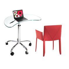 AmazonSmile: Glass Laptop Cart: Computers & Accessories