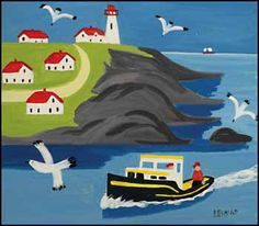 Maud Lewis Lighthouse | Maud Lewis Work Sale Results