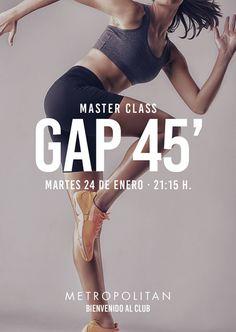 ¿Te apuntas Gap 45'? ¡Te esperamos el próximo martes, 24 de enero a las 21:15 h. en Metropolitan Las Arenas!