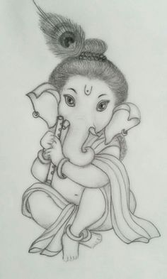 Ganpati Pencil Sketch - The purpose of sketches is in order to record some useful info for the study goal in the long phrase. It's like a tough work o...  #ganapathipencilsketch #ganeshpencilsketch #ganeshpencilsketchhd