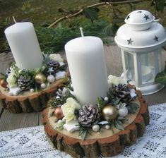 70 Simple And Popular Christmas Decorations Table Decorations Christmas Candles DIY Christmas Centerp 70 Simple And Popular Christmas Decorations Table Decorations Christmas Candles DIY Christmas Centerpiece Christmas Crafts Christmas Decor DIY Centerpiece Christmas, Christmas Window Decorations, Christmas Candles, Diy Christmas Ornaments, Rustic Christmas, Simple Christmas, Christmas Themes, Christmas Christmas, Lollipop Decorations