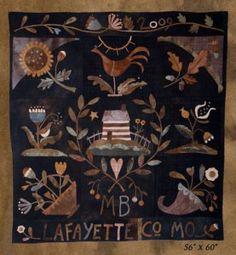 Settler's Pride Wool Bed Quilt - Maggie Bonanomi