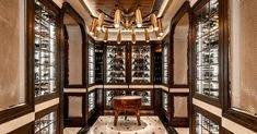 Learn about the latest wine-storage trend from designers of restaurant-style wine cellars.