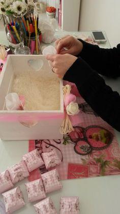 preparazione confetti