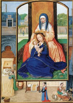 St-Anne,-The-Virgin-&-Christ