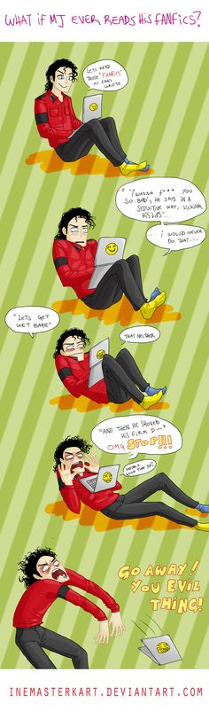MJ reads some fanfics... Oh god, i don't read them, but this is so hilarious!!!!!!!