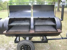 Custom built barbeque bbq pit smoker grill on by Susieqsurprises